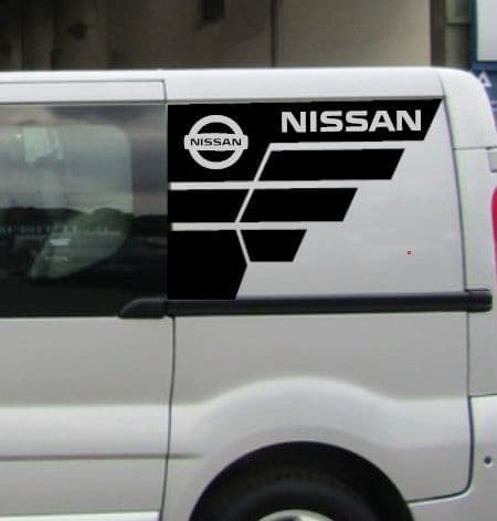 2 x  TVP Side Designs Choice Of Colour - Renault - Nissan or Vauxhall - LWB or SWB